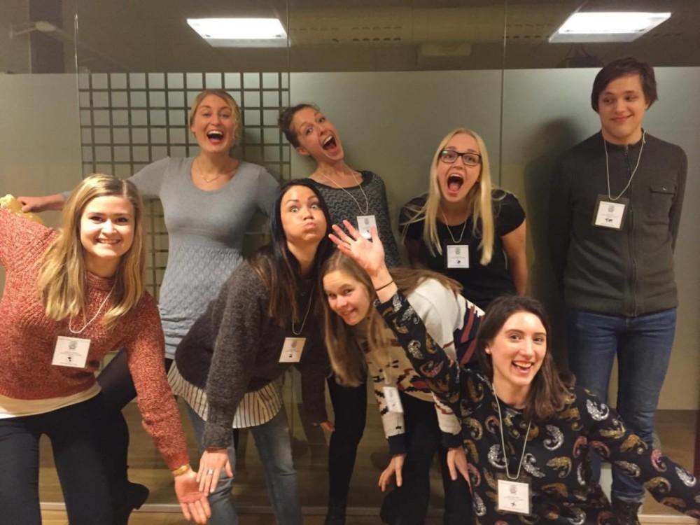 Glatt gäng på IAESTE Sveriges nationella möte, en konferens som hålls varje termin